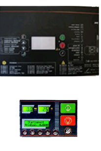 EKO Serisi Vidali Hava Kompresörleri Elektronik Kontrol Paneli
